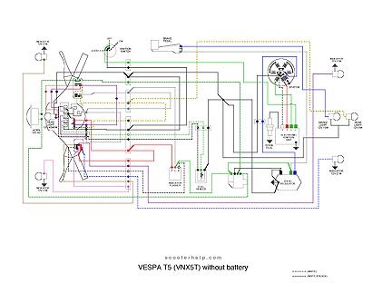 VNX5T.T5.no.battery electric wireing diagram for boreem scooters scooters boreem tankman gas scooter wiring diagram at edmiracle.co