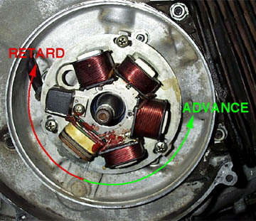 electronic ignition timing