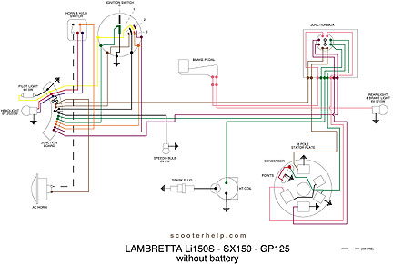 Li150S.SX150.GP125.nobatt scooter help gp 125 lambretta 12v wiring diagram at bakdesigns.co