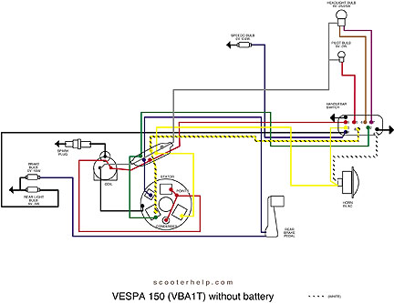 Scooter help vespa 150 vba1t with battery before 76050no batterywith battery after 760501 swarovskicordoba Gallery