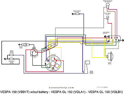 vespa stator wiring diagram example electrical wiring diagram u2022 rh cranejapan co Air Conditioner Schematic Wiring Diagram Wiring Schematic Symbols