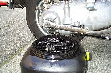 General Maintenance - Lambretta Oil Change