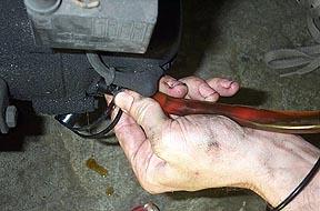 General Maintenance - Vespa Oil Change