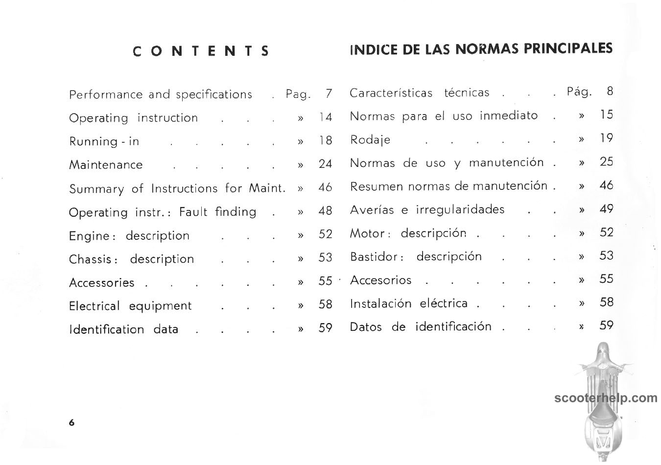 Vespa 90 Owners Manual V90 Wiring Diagram Click Individual Pages For Images Or Here A 9mb Pdf File