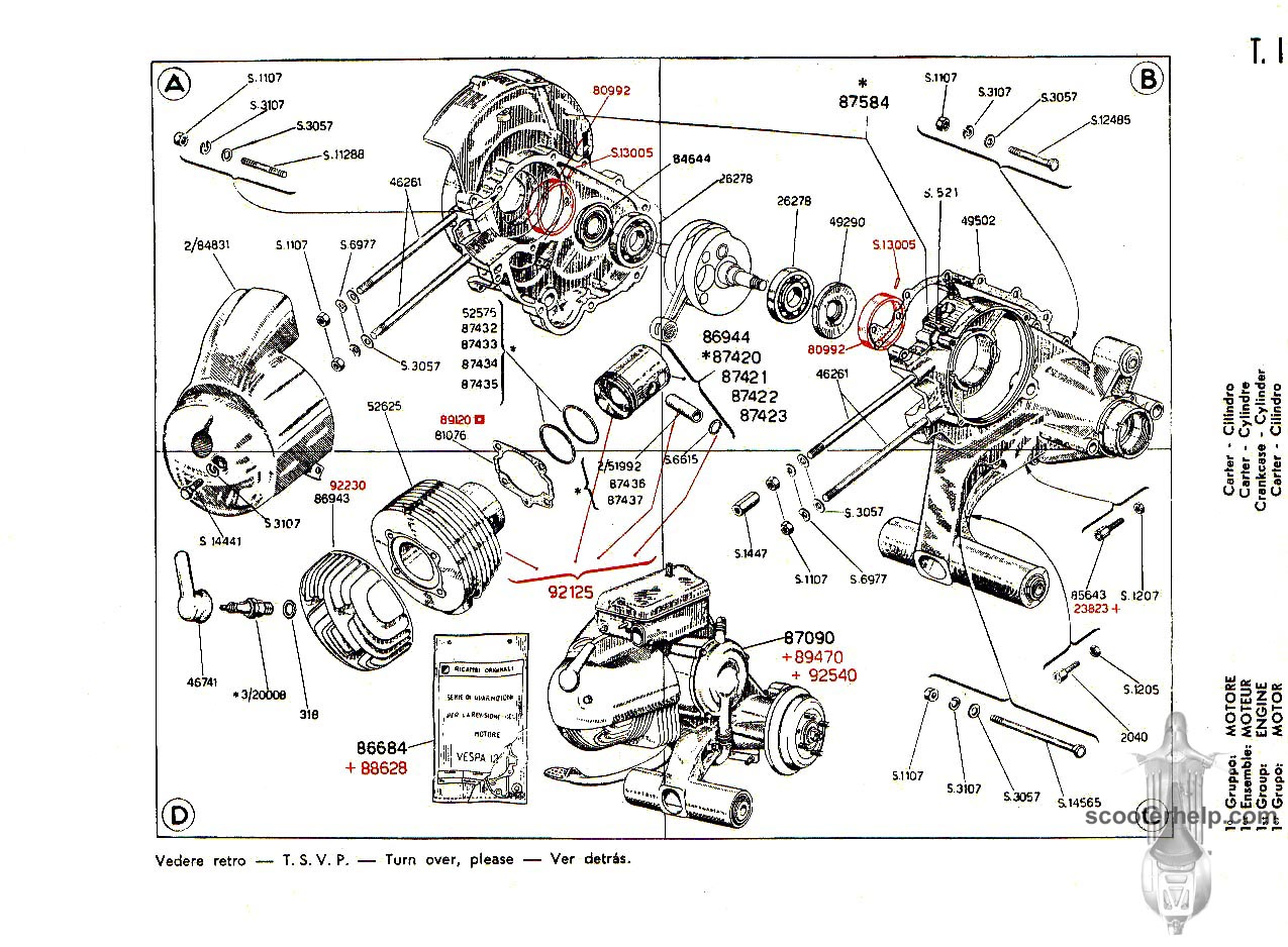 Manuals Book Vespa Px 150 Wiring Library Px125e Diagram Manual 125