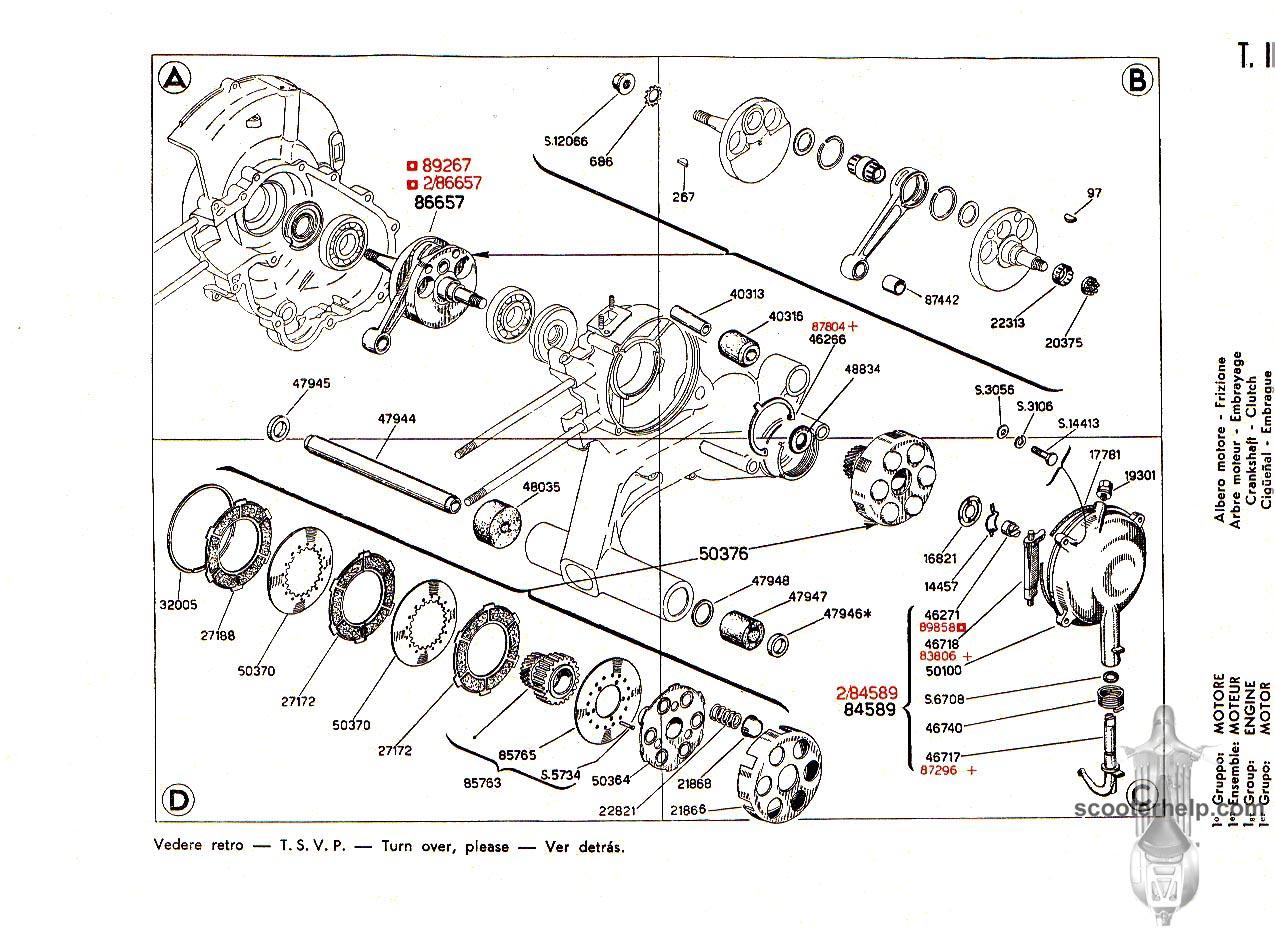 09 vespa 125 (vnb2t) parts book 1978 vespa piaggio motor diagram at n-0.co