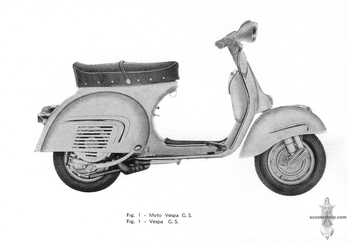 Vespa Gs160 Owners Manual Gl Wiring Diagram