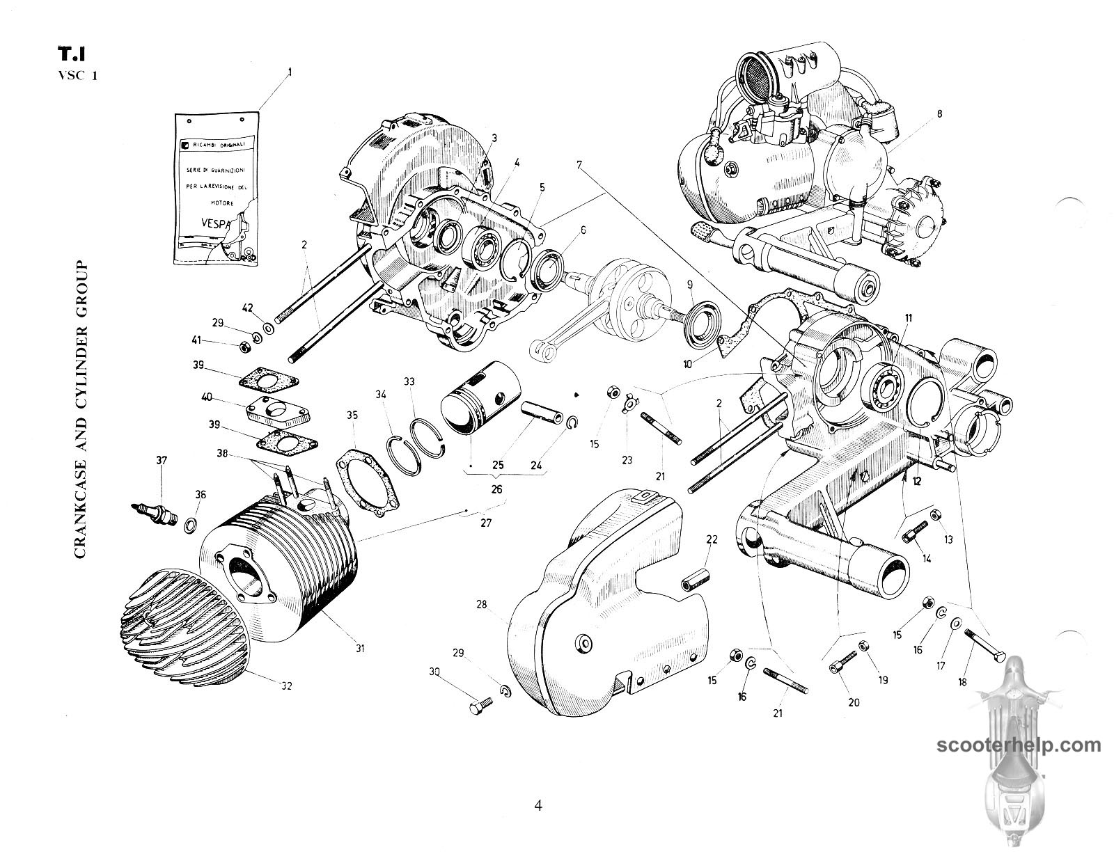 vespa motor diagram great installation of wiring diagram Audio Wiring Junction Box vespa parts diagram wiring diagram for you rh 15 19 5 carrera rennwelt de vespa engine diagram scooter electrical diagram