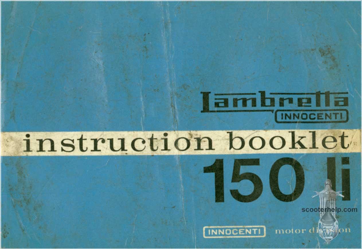 Lambretta Li 150 S3 Owners Manual Series Iii Electronic Ignition Installation