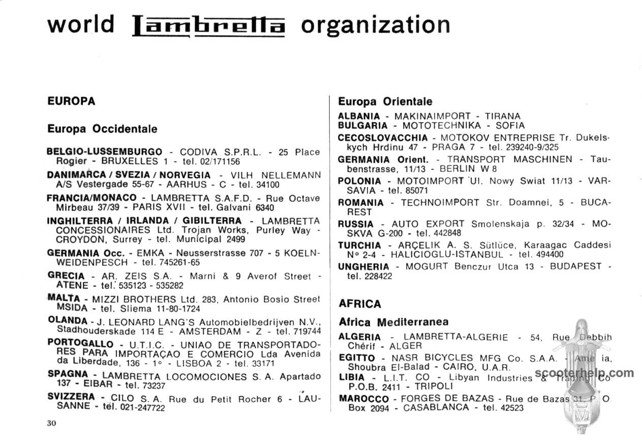Lambretta Li 150 S3 Owners Manual Series Iii Electronic Ignition Installation If You Prefer A Pdf File Of All The Pages Click Here For 55mb Download