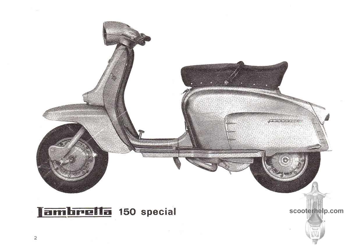 Lambretta Li 150 Special Owners Manual Scooter Wiring Diagram 100 If You Prefer A Slightly Lower Resolution Dpipdf File Of All The Pages Click Here For 53mb Download