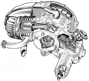 1953.motor scooter help vespa acma 150gl 1978 vespa piaggio motor diagram at n-0.co