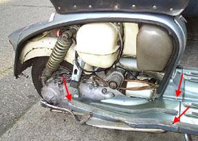 Scooter Help - Lambretta Clutch Replacement